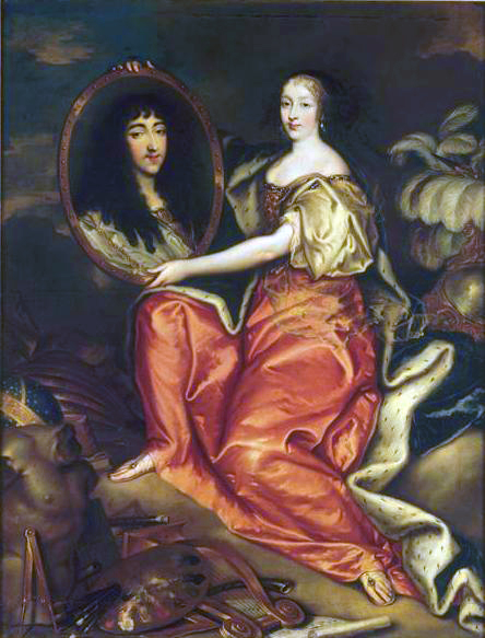 Henriette_d'Angleterre_as_Minerva_holding_a_painting_of_her_husband_Philippe_de_France,_Antoine_Mathieu