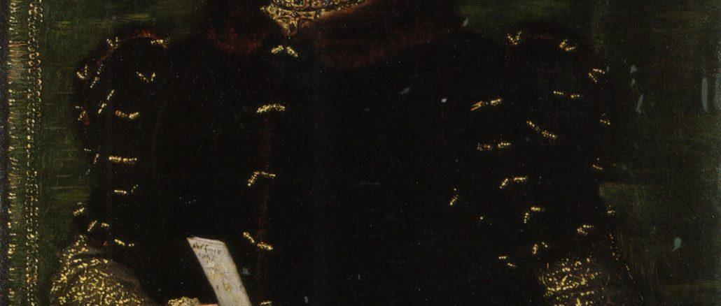 1556-1558, Portrait by Hans Eworth