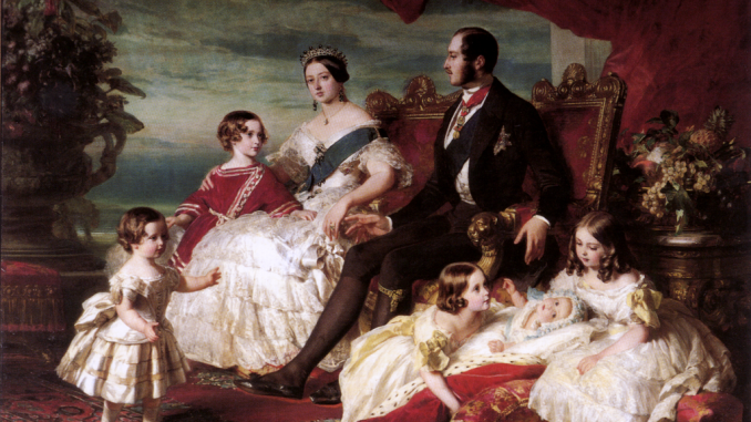 queen victoria and children