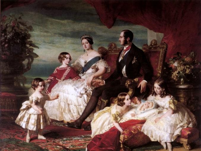 queen victoria and children