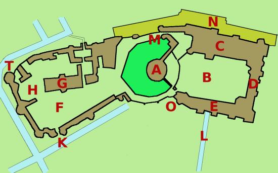 windsor castle plan