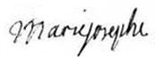 Signature_of_Dauphine_Marie_Josèphe_of_Saxony