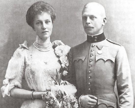Archduchess Elisabeth Marie and Count Otto von Windisch-Graetz