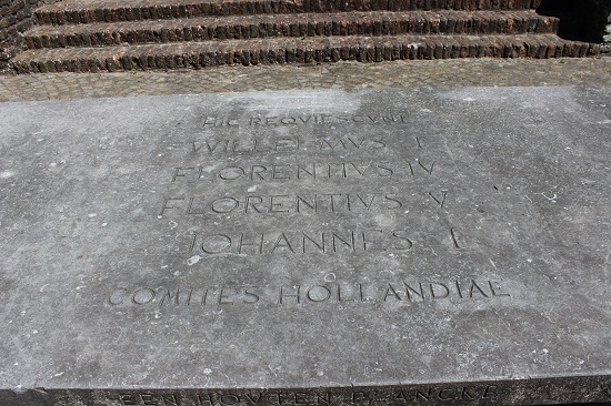 Tomb of the counts of Holland