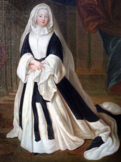 Marie Louise Élisabeth d'Orléans as a widow