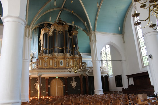 The organ was donated by Princess Marianne