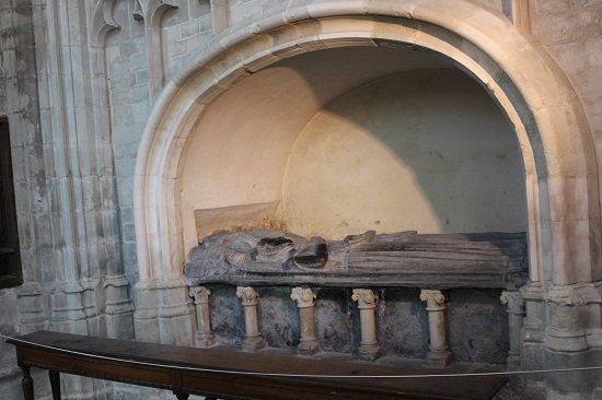 Tomb of Matilda of Boulogne and her daughter Marie of Brabant