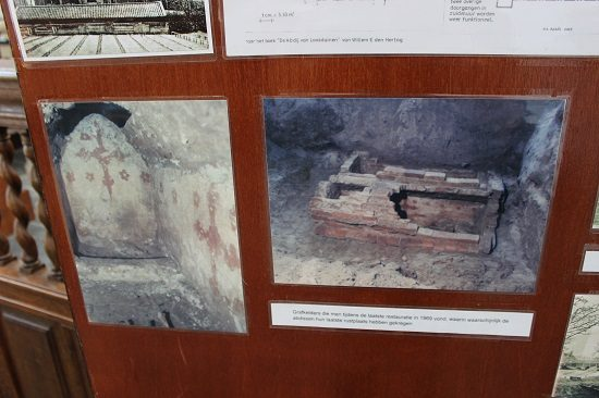 Pictures of the excavations