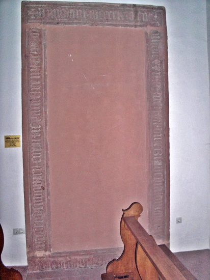 Blanche's tombstone