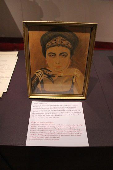 Portrait of Hermine Reuss of Greiz, possibly done by William himself