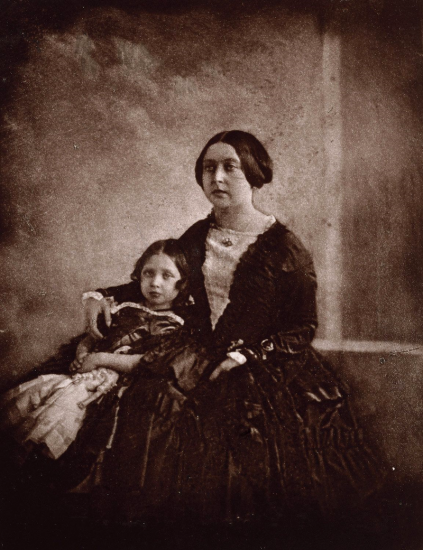 Queen Victoria with her eldest daughter, Victoria
