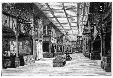 The Bazar before the fire