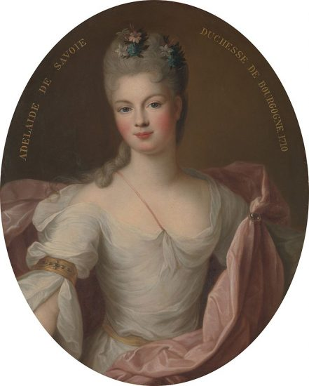 Marie Adélaïde, Duchess of Burgundy, by Pierre Gobert, 1710