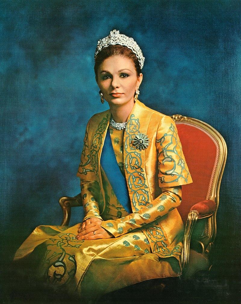 empress farah pahlavi the widow of the shah history of royal women