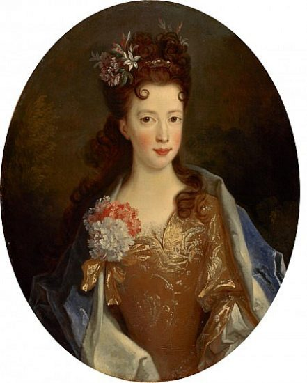 Princess Louisa Maria Teresa Stuart by Alexis Simon Belle, 1704